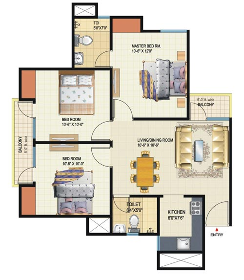 Amrapali dream valley flats 8800496206 amrapali dream for Floor plans high rise apartments