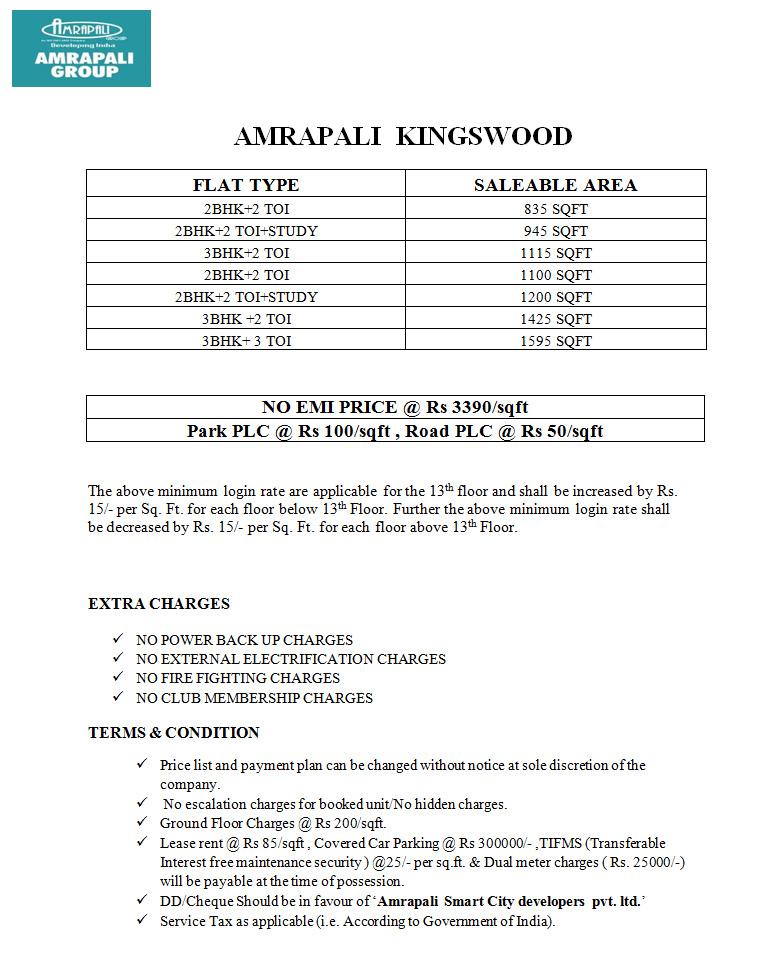 Riverview Spa Price List