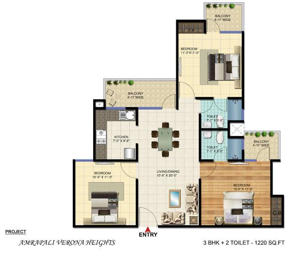 Amrapali Verona Heights Projects In Noida Extension Verona Heights Residential Projects